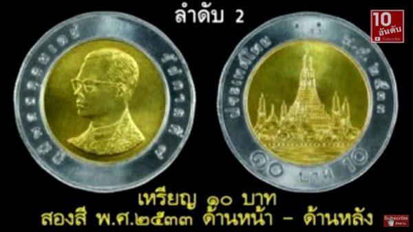 【今すぐ財布をチェック】タイのプレミア付き超レア硬貨 TOP10!!
