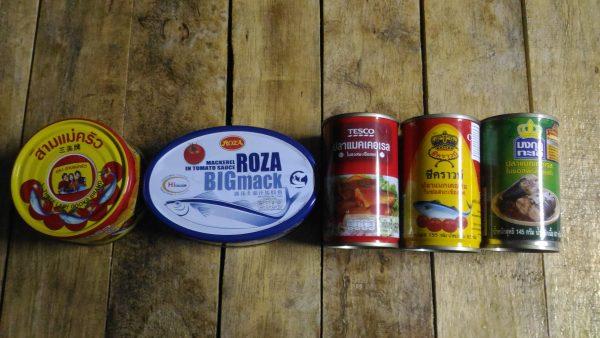 タイのローカル缶詰を食べ比べ!安くて美味しいのはコレだ!!