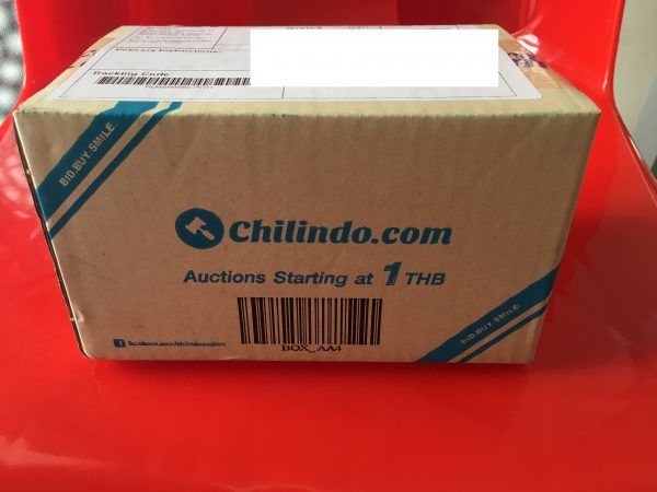 「chilindo」からの荷物がちゃんと届いたので軽くレビューしてみる