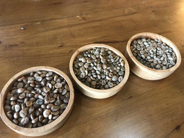 イサーンのローカルカフェでコーヒーの生豆を買って自家焙煎してみた