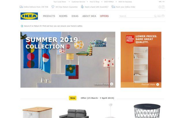 タイのIKEAがオンラインショップをスタート!その手順と方法を画像付きで解説