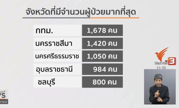 2019年タイでデング熱の被害が過去5年間で最高に!【詳細情報】