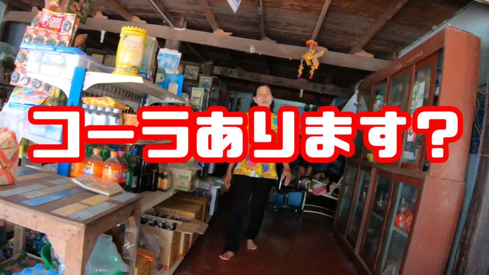 エモいBGMにのせてタイの田舎道を20km走ってコーラを飲みに行く動画